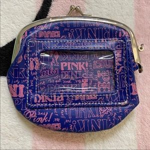 VS Pink Rare Vintage Collectible Mini Coin Purse